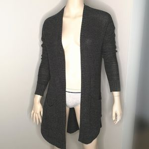 American Eagle Open Front Cardigan with Pockets